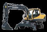 Excavadora R140W-9S