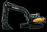 Excavadora HX340SL